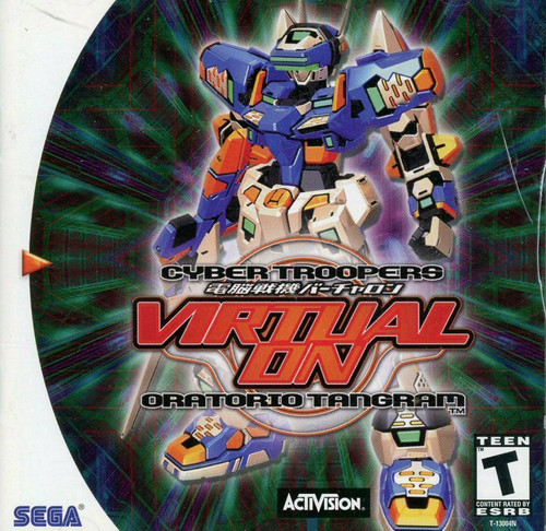 Virtual-On Oratorio Tangram -GAME ONLY- (Dreamcast)