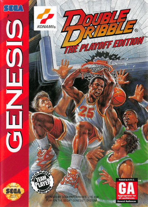 Double Dribble The Playoff Edition (Genesis)