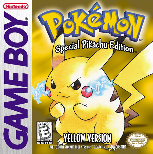 Pokemon Yellow Version [ESPANOL] (Original Gameboy)
