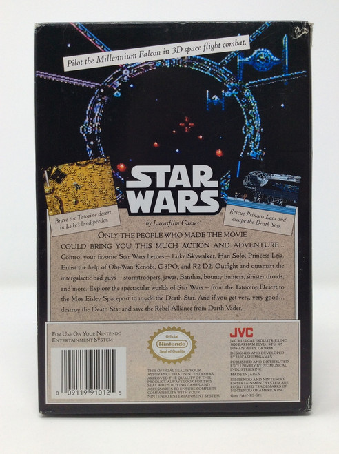 Star Wars -COMPLETE IN BOX- (NES)