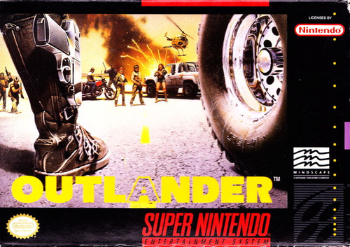 Outlander -COMPLETE IN BOX- (Super Nintendo)