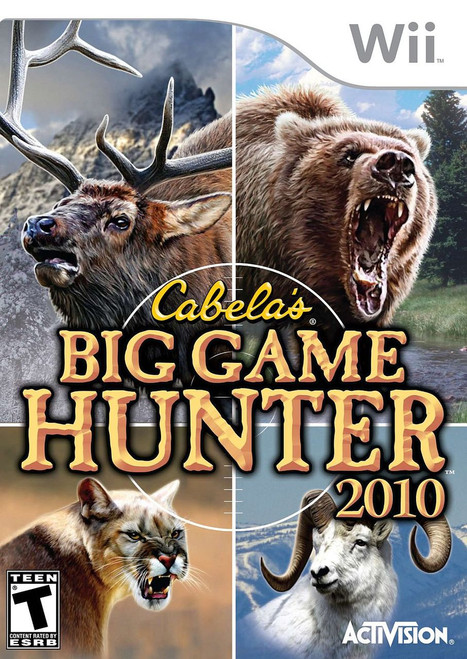 Cabela's Big Game Hunter 2010 (Wii)