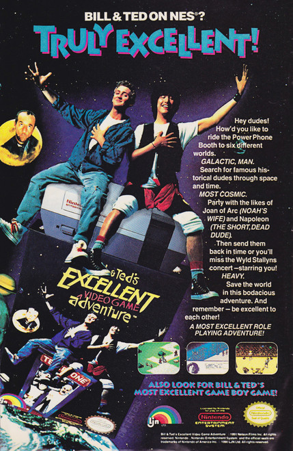 Bill & Ted's Excellent Adventure (NES)