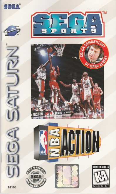NBA Action (Sega Saturn)