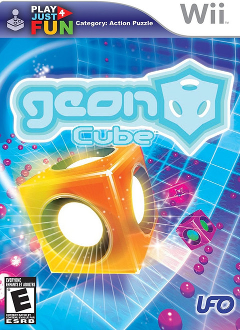Geon Cube - New/Sealed in Box (Wii)