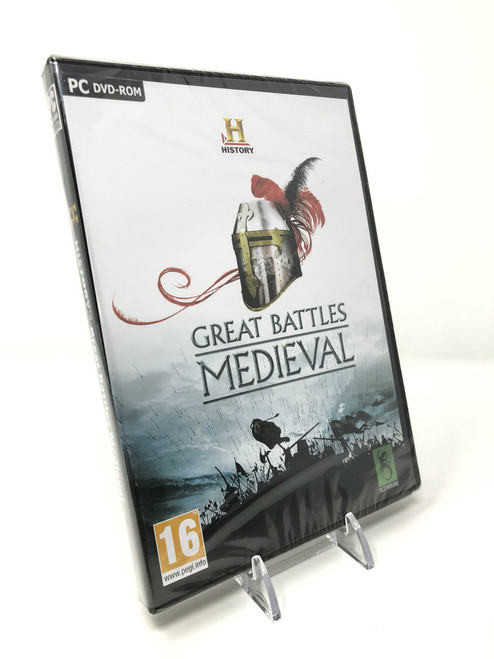 Great Battles Medieval - NEW in Box/Factory Sealed (PC)