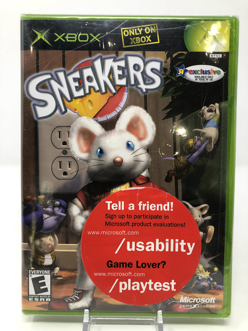 Sneakers NEW in Box/Factory Sealed (Original Xbox)