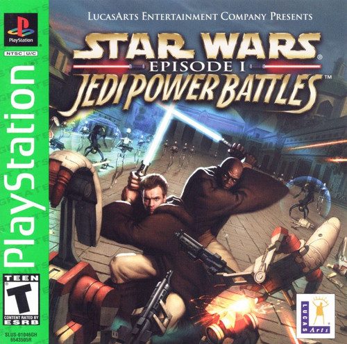 Star Wars: Episode 1 - Jedi Power Battles (PS1)