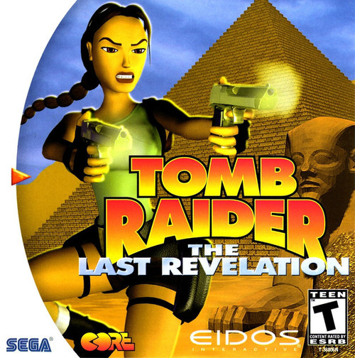 Tomb Raider: The Last Revelation - Complete in Box (Dreamcast)