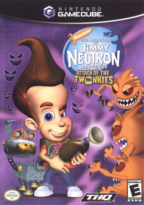 The Adventures of Jimmy Neutron, Boy Genius: Attack of the Twonkies (GameCube)