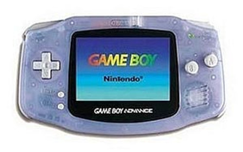 Game Boy Advance System - Glacier