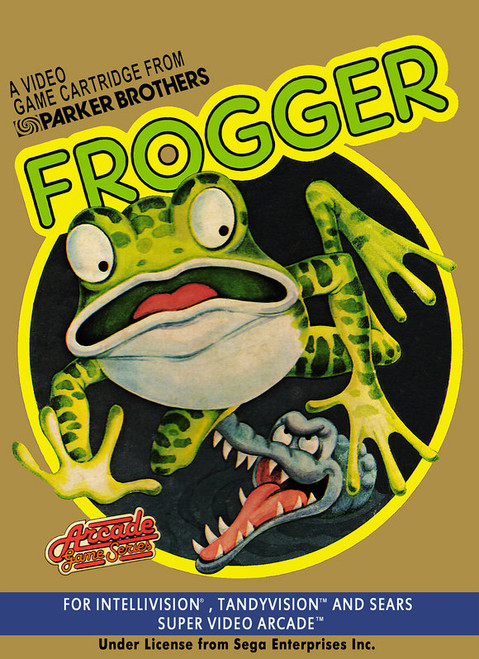 Frogger -in box- (Intellivisiom)
