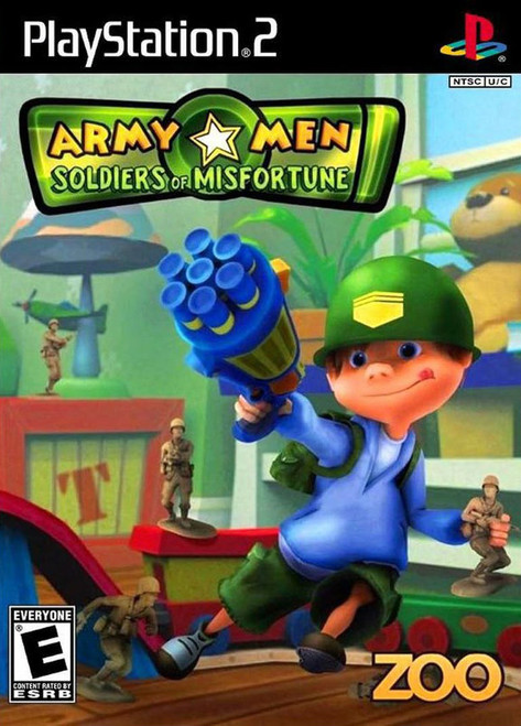 Army Men: Soldiers of Misfortune (PS2)