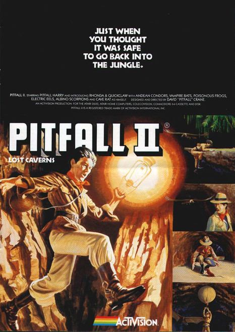 Pitfall II: Lost Caverns (Atari 5200)