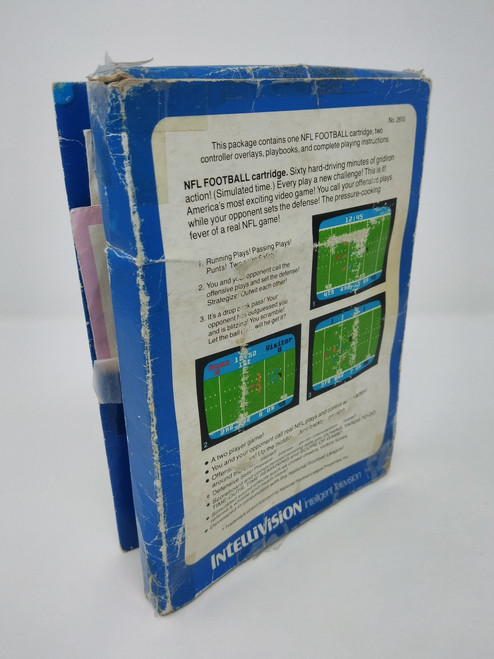 NFL Football -COMPLETE IN BOX- (Intellivision)