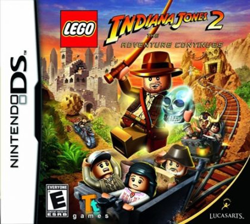 *BRAND NEW* LEGO Indiana Jones 2 (DS)