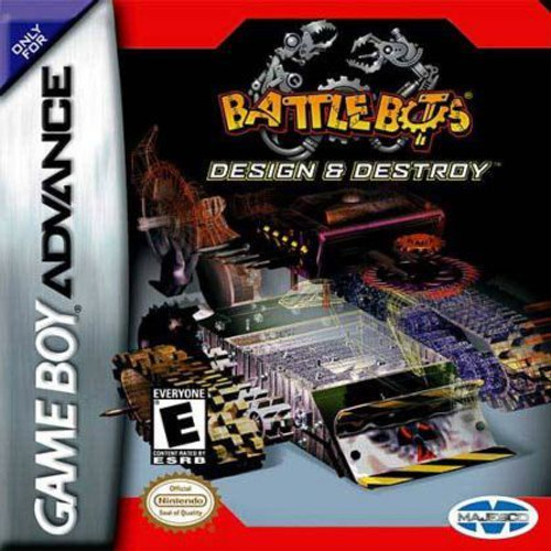 Design & Destroy Battlebot (Game Boy Advance)