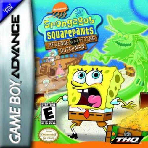 Dutchman Spongebob Revenge (Game Boy Advance)