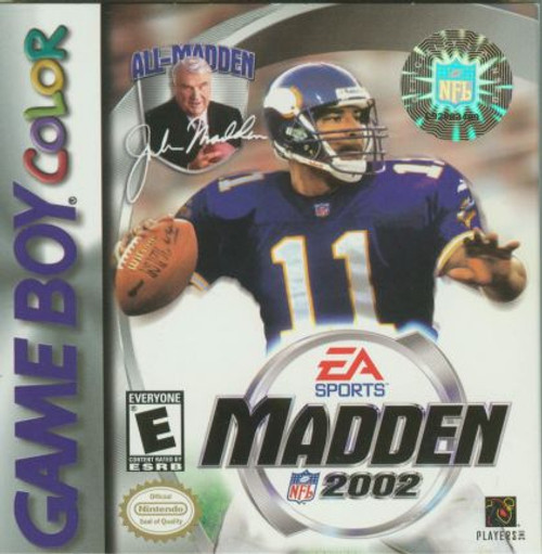 Madden 2002 (Game Boy Color)