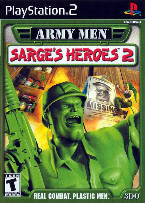 Army Men: Sarges Heroes 2 (PS2)