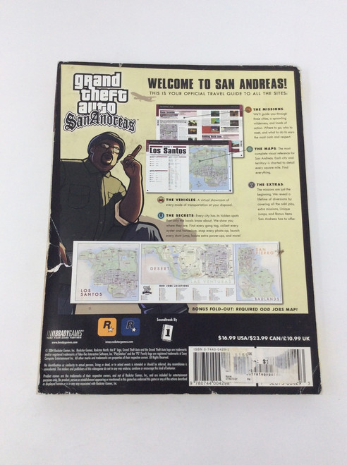 Grand Theft Auto: San Andreas (Brady Games Official Strategy Guide)