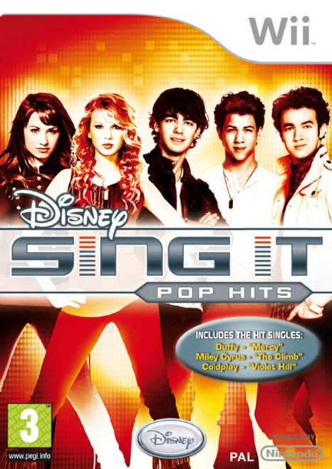 Disney Sing It Pop Hits (Wii)