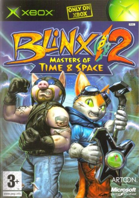 Blinx 2 Masters of Time (Original Xbox)