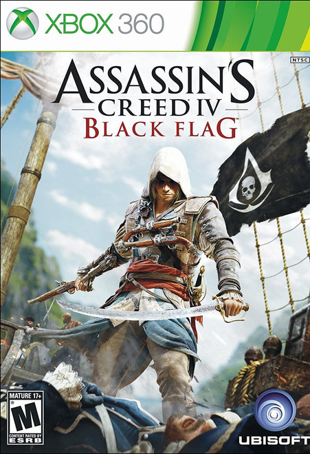 Assassin's Creed IV: Black Flag (Xbox 360) (Pre-Owned)