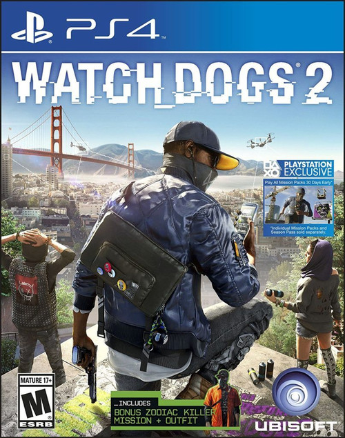 Watch Dogs 2 (PS4) (Pre-Owned)