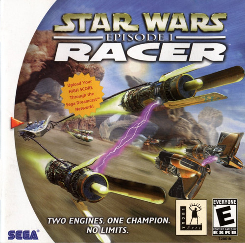 Star Wars Episode 1: Racer with Manual (Dreamcast)