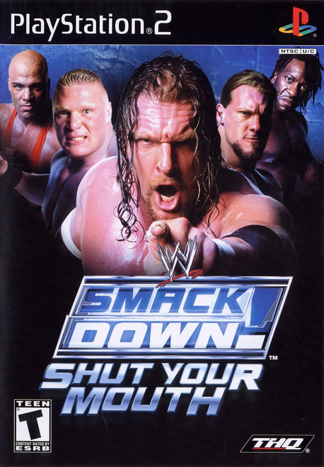 WWE SmackDown! Shut Your Mouth (PS2)
