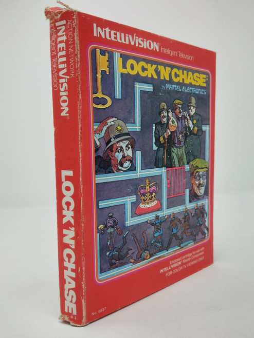 Lock 'N' Chase -COMPLETE IN BOX- (Intellivision)