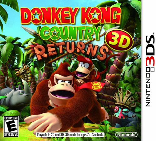 Donkey Kong Country Returns 3D (3DS) (Pre-Owned)