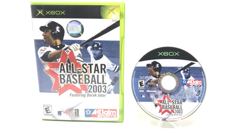 All-Star Baseball 2003 (Original Xbox)