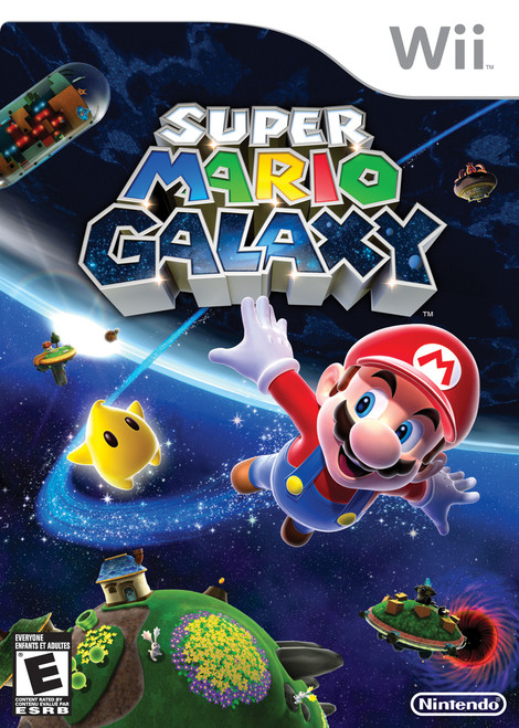 Super Mario Galaxy (Wii) (Pre-Owned)