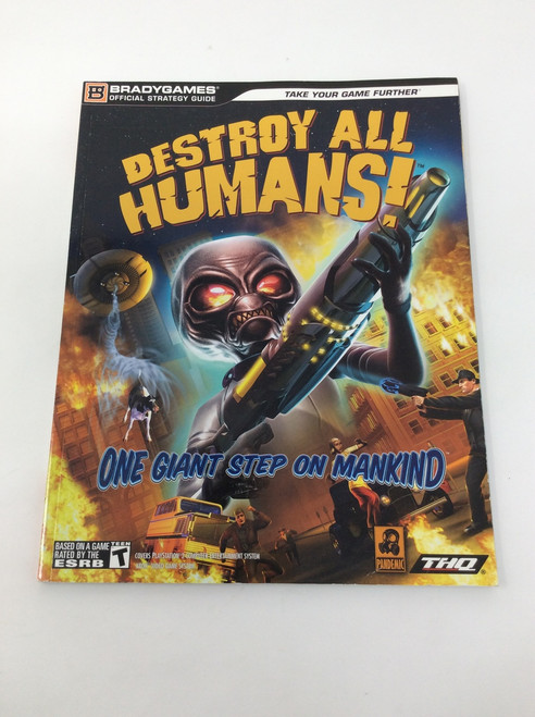 Destroy All Humans! (Brady Games Official Strategy Guide)
