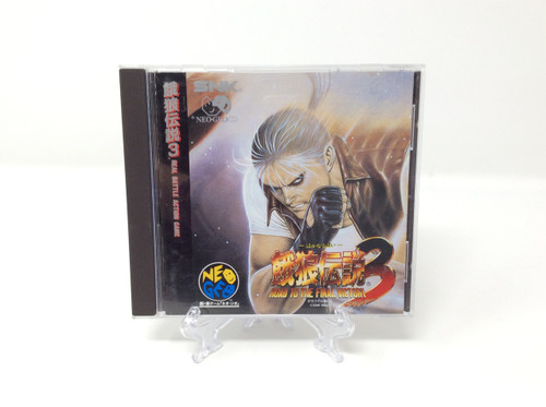 Fatal Fury 3: Road to the Final Victory -JP IMPORT- (NeoGeo CD)