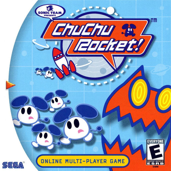 Chu Chu Rocket -GAME ONLY- (Dreamcast)