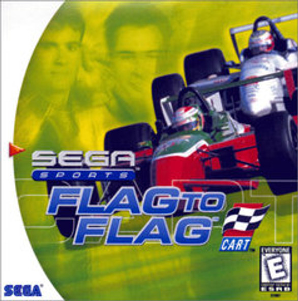 Flag to Flag -GAME ONLY- (Dreamcast)