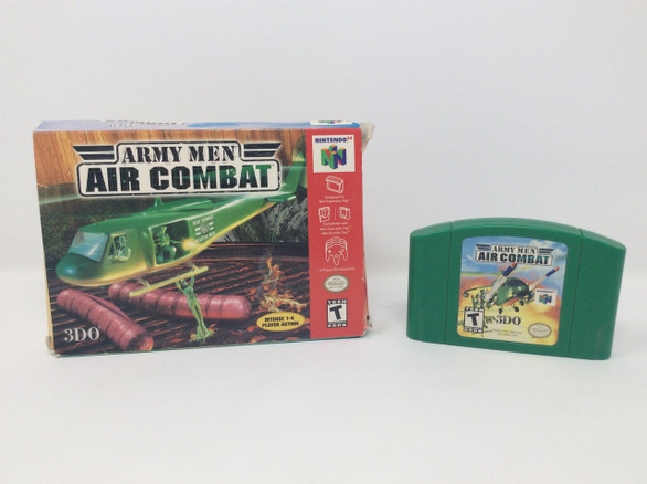 Army Men: Air Combat -in box- (Nintendo 64)