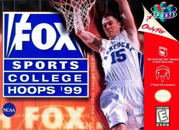 Fox Sports College Hoops '99 (Nintendo 64)