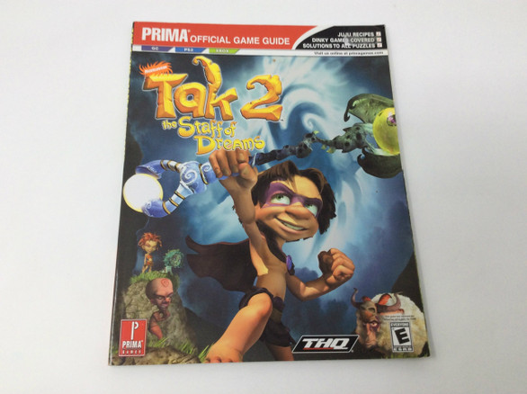 Tak 2: The Staff Of Dreams (Prima Official Game Guide)