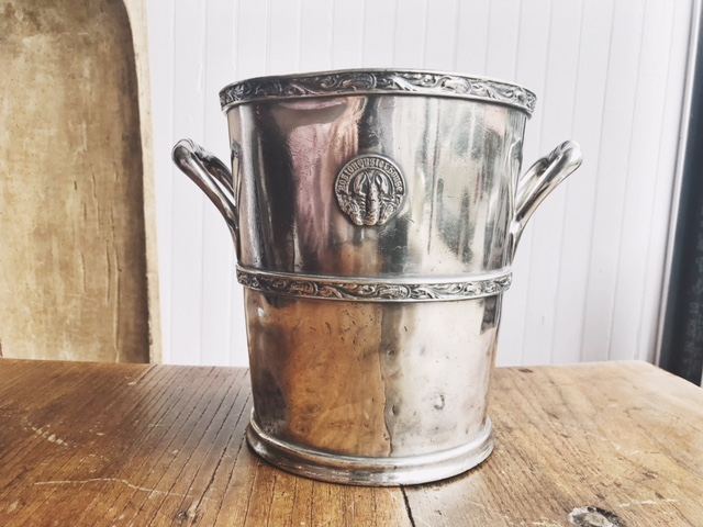 Boston Oyster House Silver Champagne Bucket