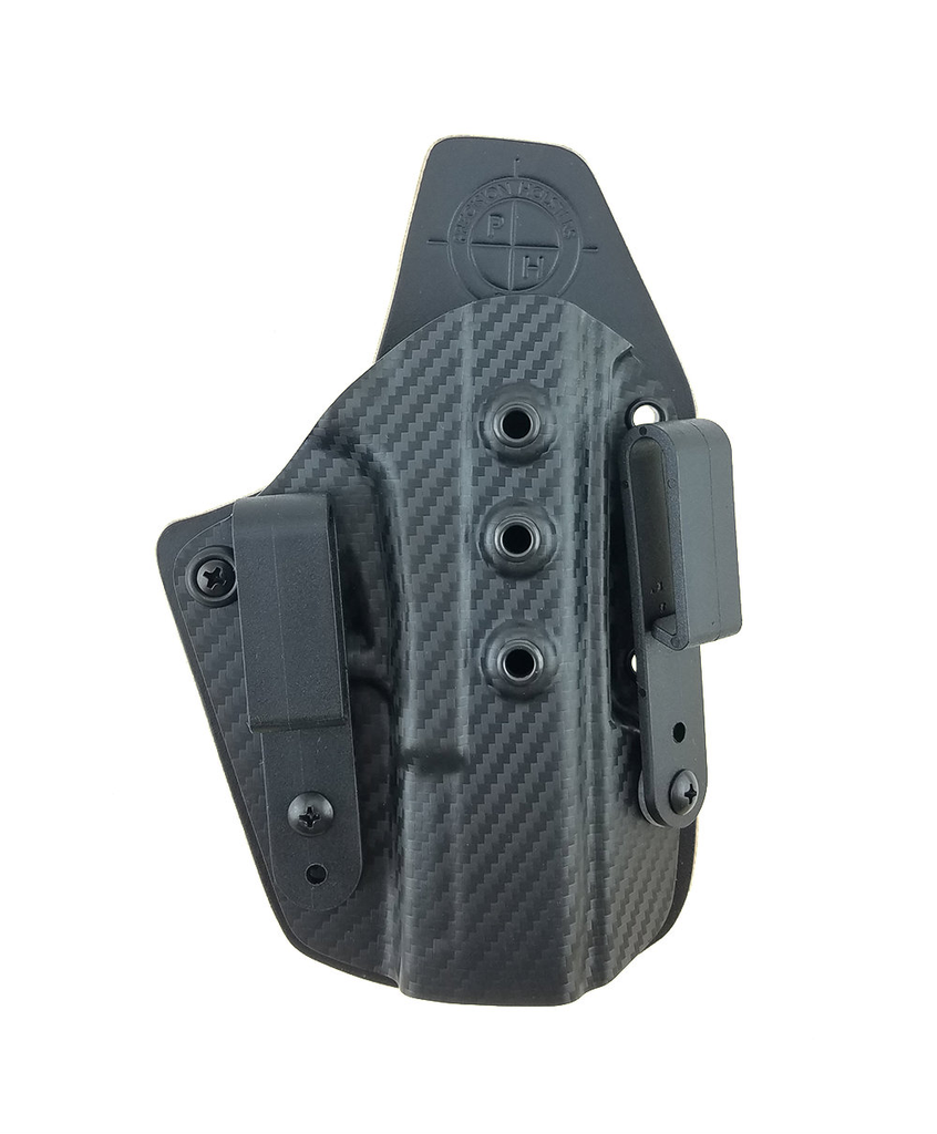 Ultra Carry Holster IWB with Custom Carbon Fiber Kydex