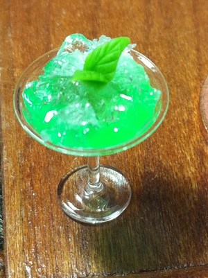 Minty Cocktail Drink