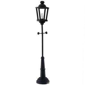 LED Black  Lamp Post