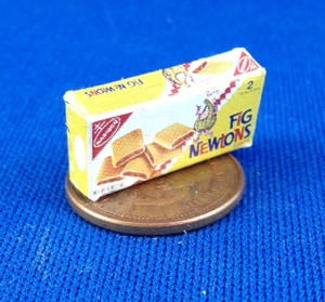 Fig Newton Cookie Box
