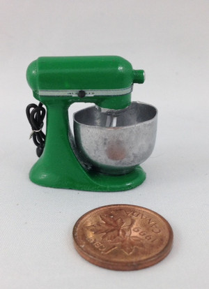 Dark Green Electric Mixer