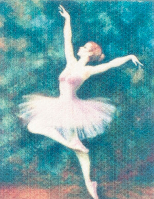 Unframed Ballet Painting