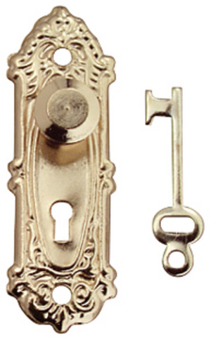 Fancy Door Knobs - Set of 2 with keys